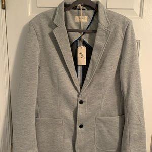 Civil society Large gray knit blazer